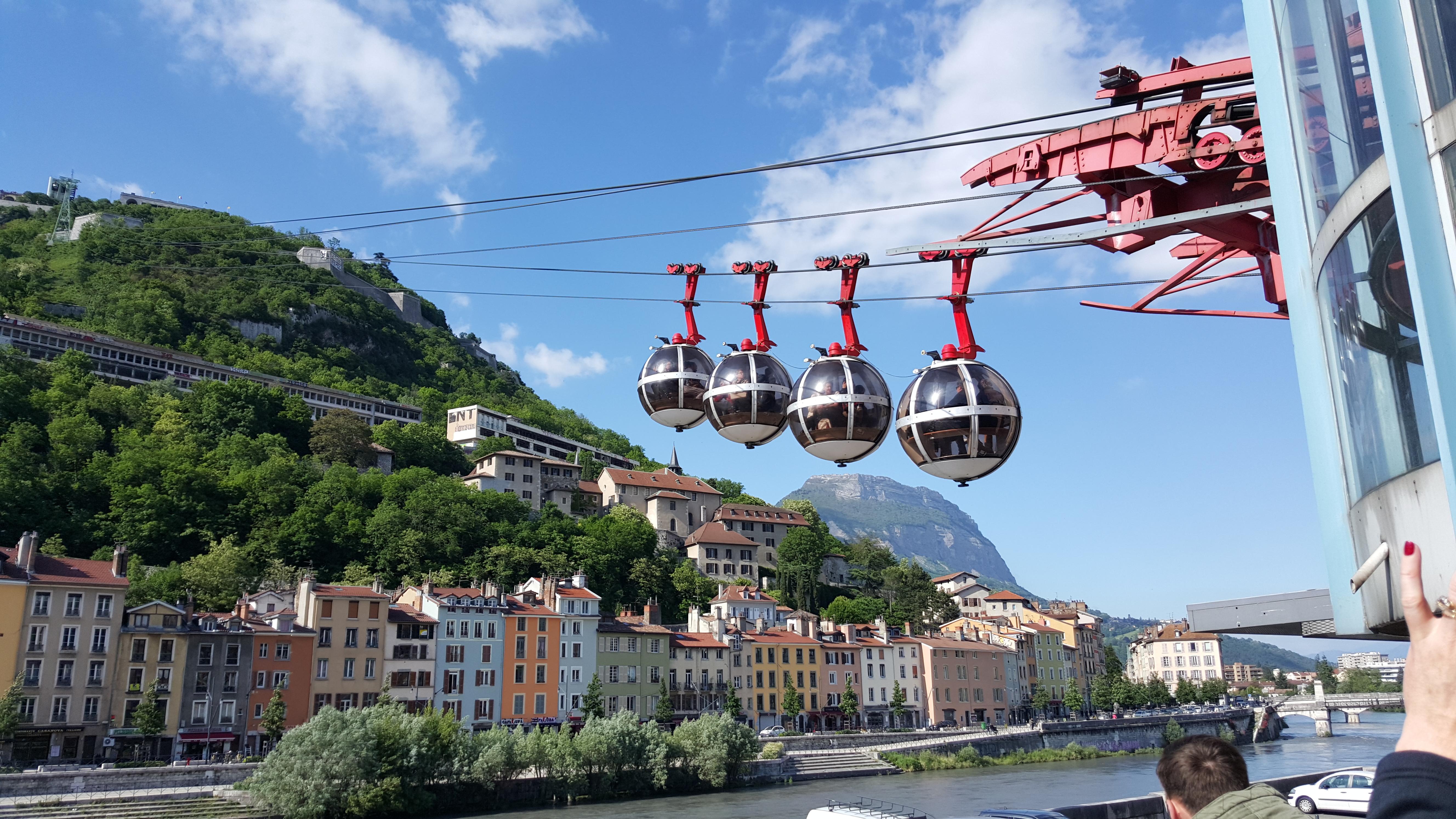 Grenoble…Nestled in Mountains