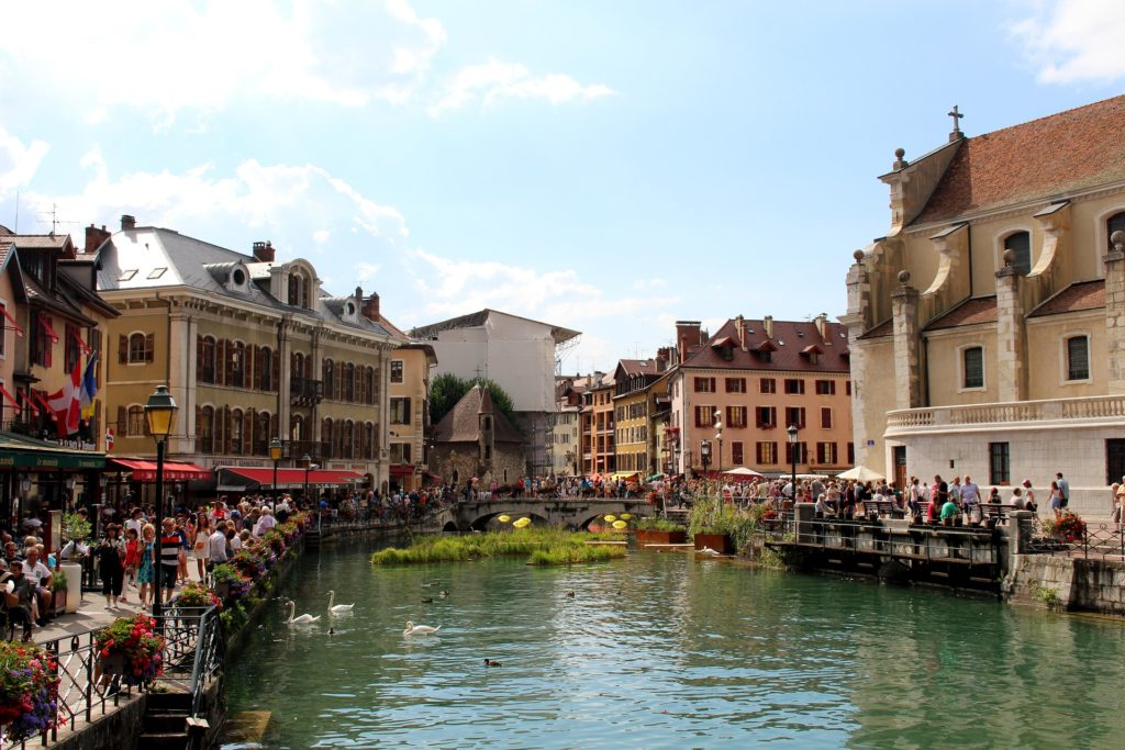 Annecy, French Alps, travel in France