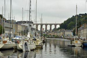 Morlaix in Brittany France