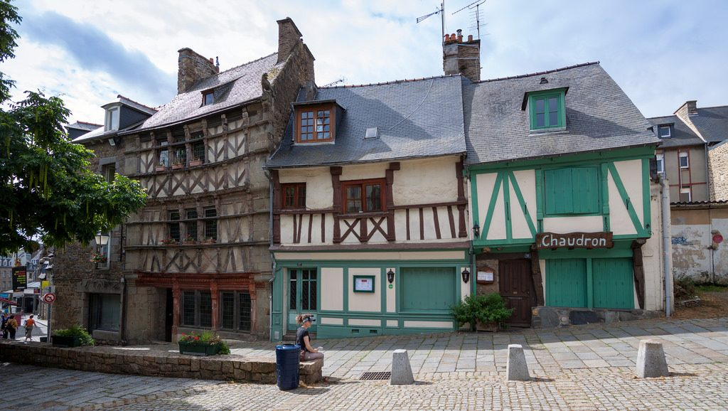 St. Brieuc in Brittany France