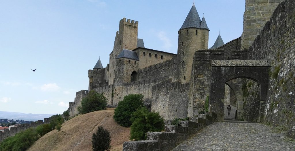 Carcassonne Languedoc Provence France