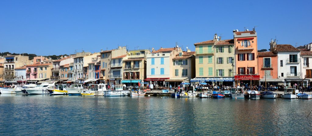 Cassis near Marseille France