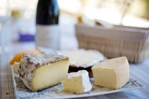 French cheese, cheese platter, French food, France travel