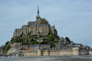Brittany, Normandy, Mont Saint Michel, France