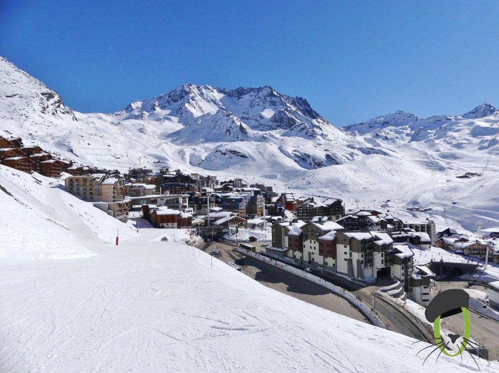 ski in France, France tourism, French alps, Val Thorens