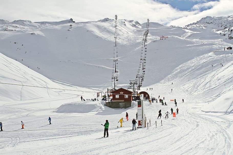 French ski resorts, Ski in France, France travel