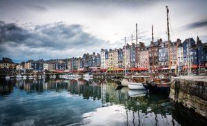 Honfleur, Normandy, Etretat, Rouen