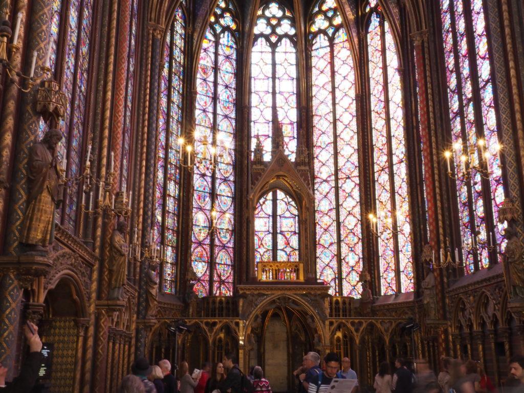 La Sainte Chappel, Paris, Holy Chappel, Paris
