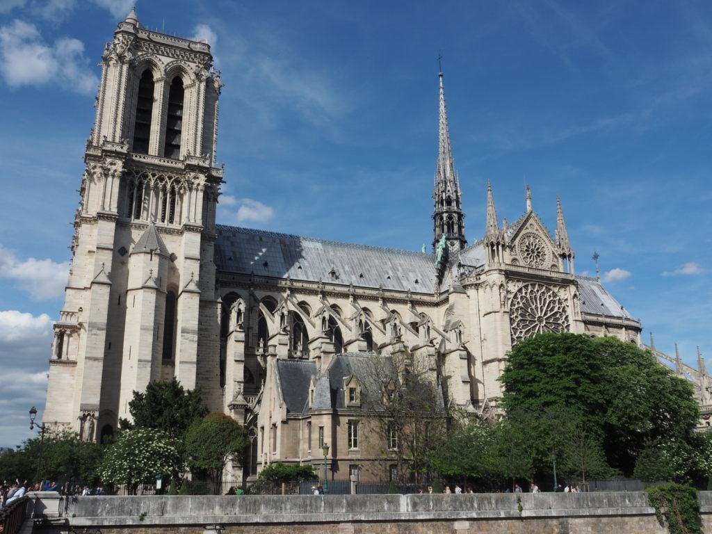 Notre Dame Cathedral, La Cathedrale de Notre Dame, Church in Paris