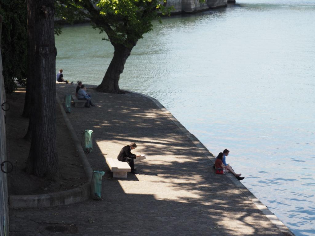 Ile de Saint Louis, Seine River, Paris