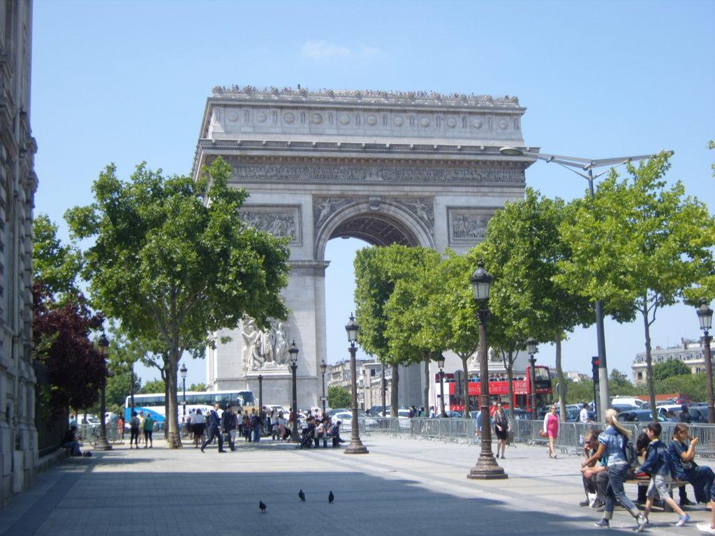 L'Arche de Triomphe, Central Paris, Arch of Paris