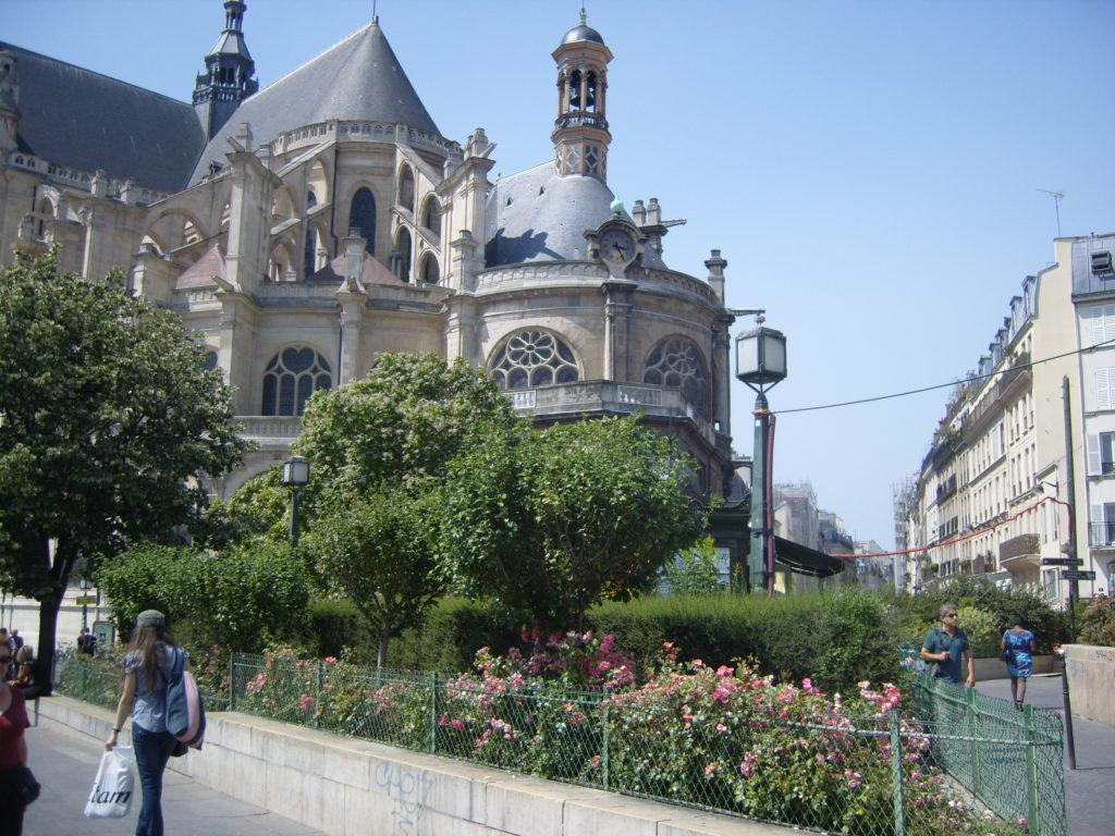St. Eustache Church, Paris