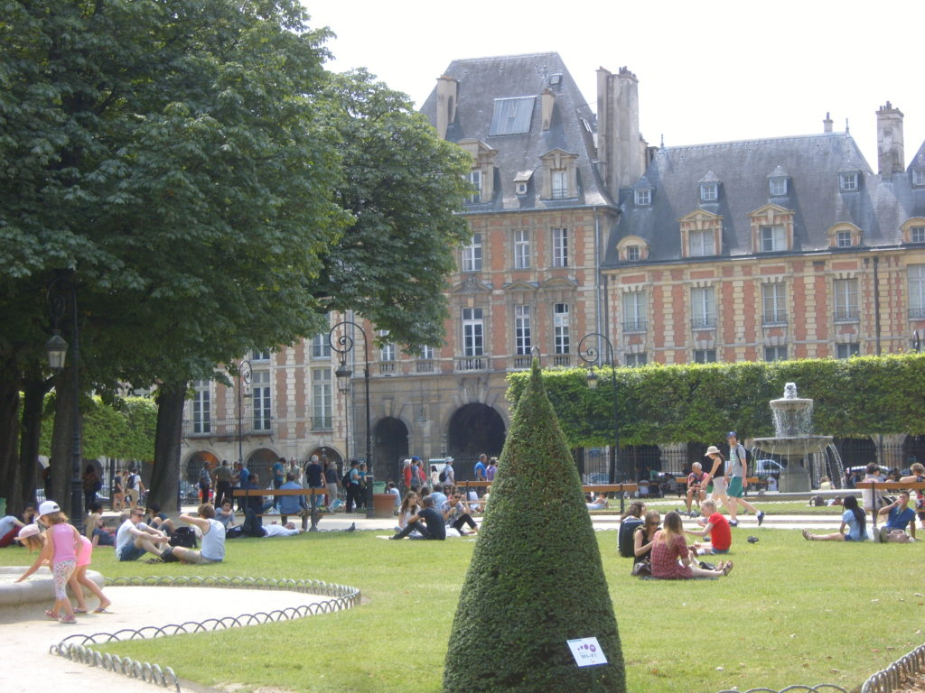 Le Marais, Paris, Place des Vosges