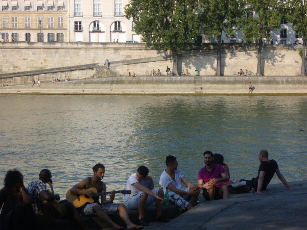 Seine River, Paris Detente, Relaxing in Paris