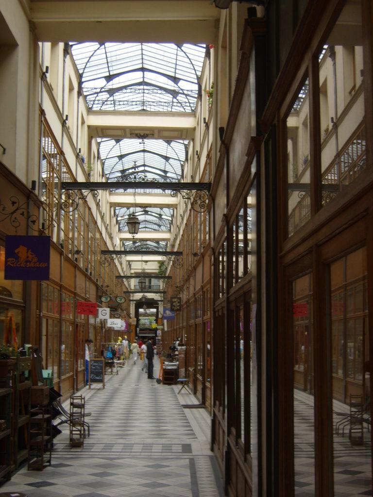 Galerie in Paris, Paris shopping