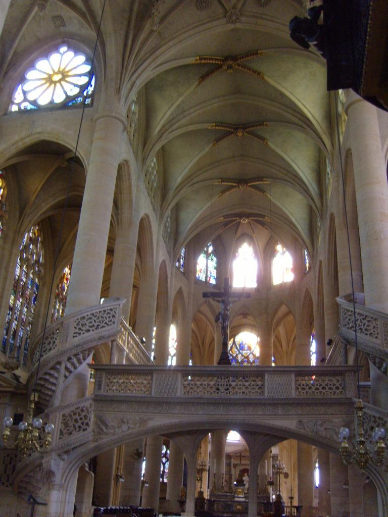 Eglise St. Etienne du Mont, Church in Paris, Latin Quarter
