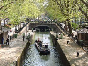 St. Martin Canal, 10th district Paris, canals in Paris
