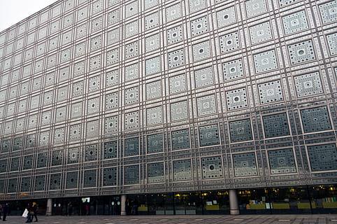 Institute du Monde Arabe, Arab World Institute Paris, Jean Nouvel