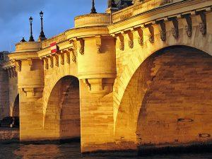 bridges in Paris, le Pont Neuf