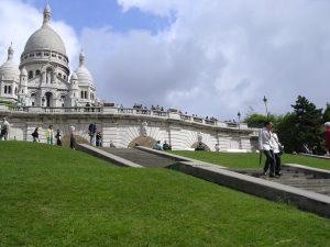 Paris basilica, Sacre Coeur, Montmartre, France