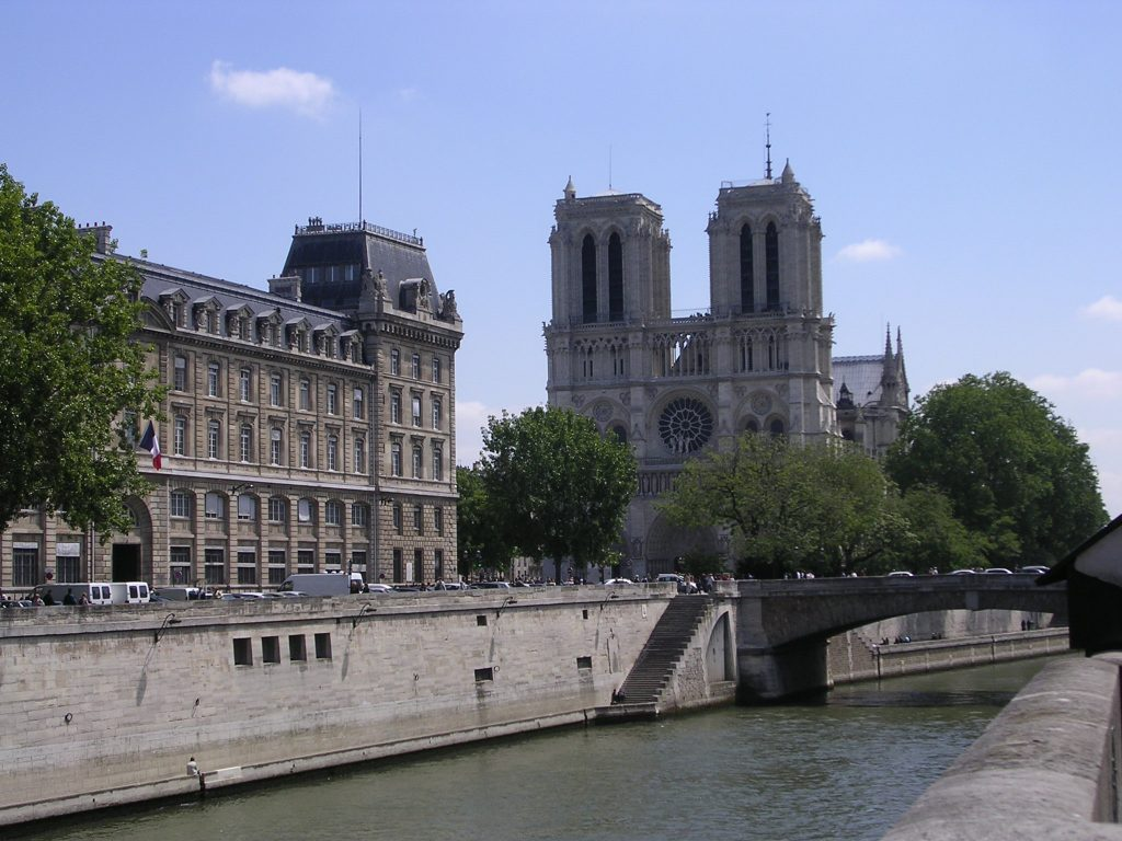 Notre Dame cathedral, Paris, France tourism