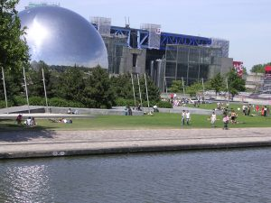 La Villette Paris, La Geode, Paris planetarium, Paris science Museum