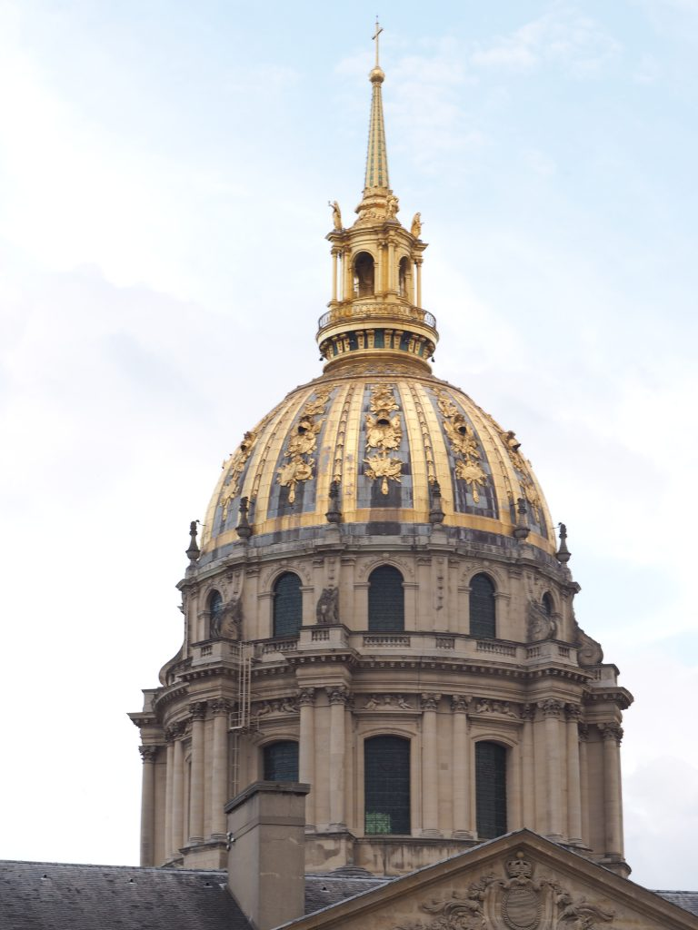 Les Invalides, French monuments, Napoleon, War museum in Paris, Baroque style in Paris