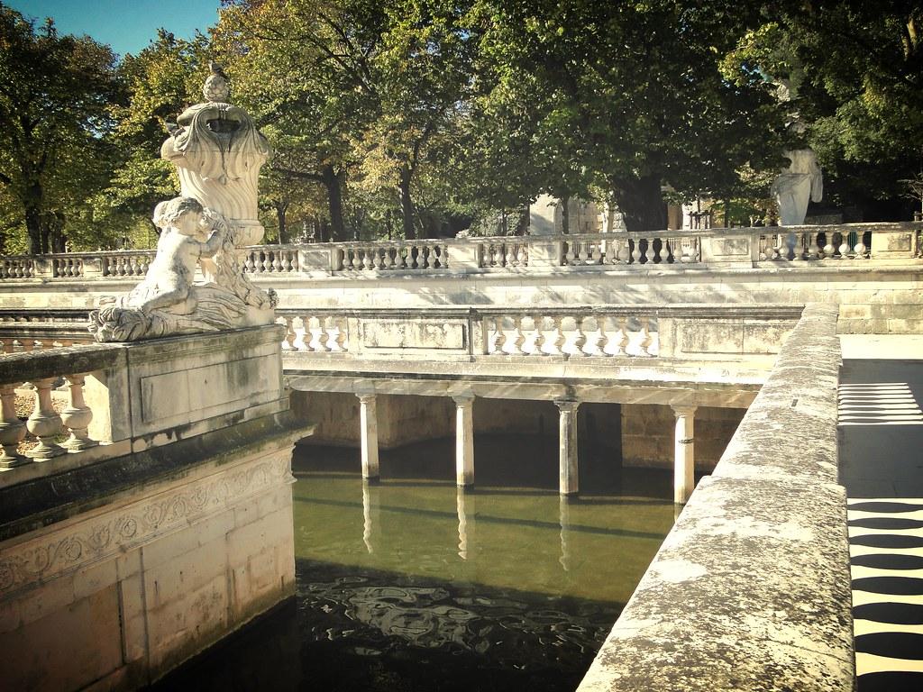 Jardin de la Fontaine Nimes, france travel, Ancient France