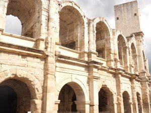 ancient France, Arles amphitheatre, Arles, France travel