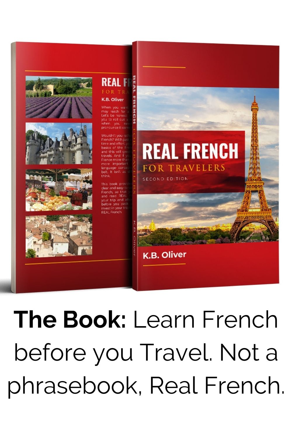 Real French for Travelers: The Book