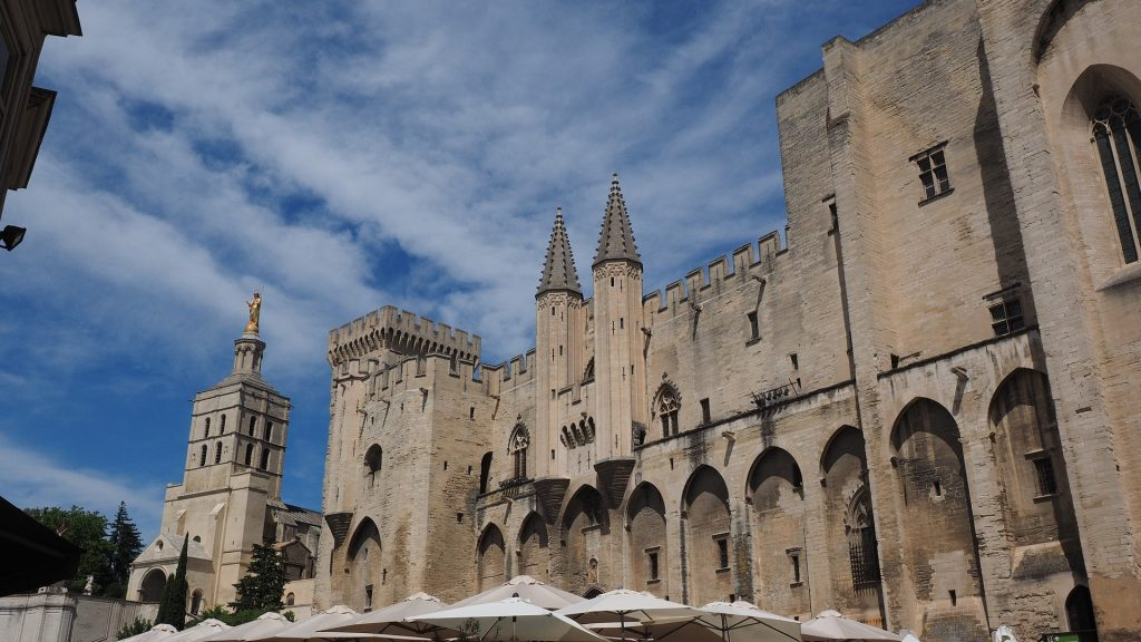palace of Popes Avignon